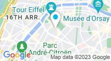 Plan Carte Délicates Attentions à Paris (15ème)