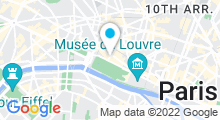 Plan Carte Spa Valmont de l'Hôtel Meurice à Paris