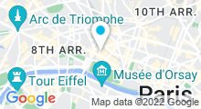 Plan Carte Le Burgundy à Paris (1er)