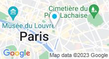 Plan Carte Le Pavillon de la Reine à Paris (3ème)