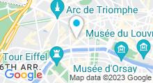 Plan Carte Dior Institut à l'Hôtel Plaza Athénée à Paris (8ème)