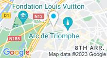 Plan Carte Spa Ban Sabaï Royal à Paris (16ème)