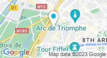 Plan Carte Saint-James Paris Spa à Paris