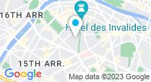 Plan Carte Sensation Spa à Paris (7ème)