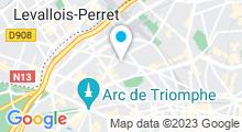 Plan Carte Guest Men à Paris (17ème)