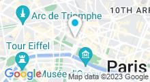 Plan Carte Hôtel Sofitel Paris le Faubourg (8ème)