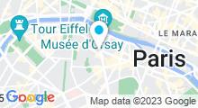 Plan Carte Bains de Grenelle à Paris (7ème)