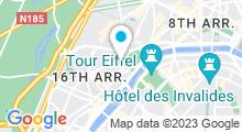 Plan Carte Lovely Spa à Paris (16ème)