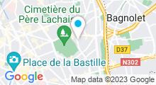 Plan Carte Hammam Le Riad à Paris (20ème)
