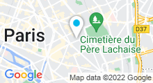 Plan Carte Spa Latitude Zen à Paris (11ème)