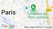 Plan Carte Spa Latitude Zen à Paris (11ème)