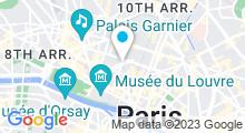 Plan Carte Spa Dans le Noir à Paris (2ème)