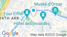 Plan Carte Spa Attitude Beauté à Paris (7ème)