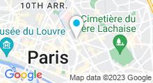 Plan Carte Spa Amytis Beauty à Paris (11ème)