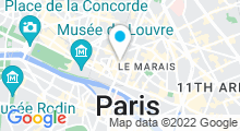 Plan Carte B Zen Spa à Paris (1er)