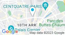 Plan Carte Bains Maures à Paris (18ème)