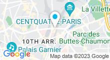Plan Carte Centre de Beauté Indien La Chapelle à Paris (10ème)