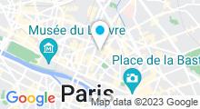 Plan Carte Spa Cygne Noir à Paris (3ème)