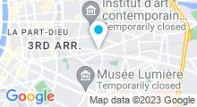 Plan Carte Spa Rose Beauté à Lyon (3ème)