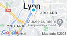 Plan Carte Le Hammam à Lyon (7ème)