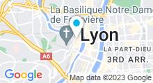 Plan Carte Spa la Cours des Loges à Lyon (5ème)