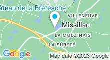 """Plan Carte Spa de la """"Cour Carrée"""" au Domaine de la Bretesche à Missillac"""