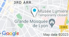 Plan Carte Beauté Lumière à Lyon (8ème)