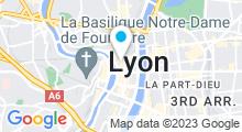 Plan Carte Spa Soin de Lui à Lyon (1er)