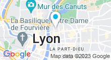 Plan Carte Institut Vendome à Lyon (6ème)