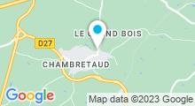 Plan Carte Spa du Château Boisniard à Chambretaud