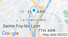 Plan Carte Spa Azium à Lyon (2ème)