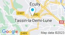 Plan Carte Alliance Beauté à Tassin-la-Demi-Lune