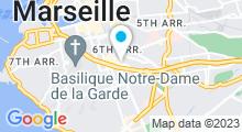 Plan Carte Institut Philippe Prin-Derre à Marseille (6ème)