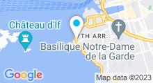 Plan Carte Institut Rêve de Beauté à Marseille (7ème)