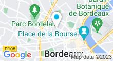 Plan Carte Spa Dans le Noir à Bordeaux