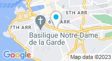 Plan Carte Lifeclub à Marseille