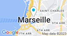 Plan Carte Spa Deep Nature by Clarins à Marseille