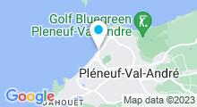Plan Carte Spa marin du Val André à Pléneuf-Val-André