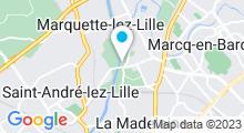 Plan Carte Spa Rive Droite à Marquette Lez Lille