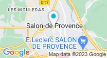 Plan Carte Auberge de Beauté & Spa à Salon-de-Provence
