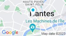 Plan Carte Aquatonic Nantes