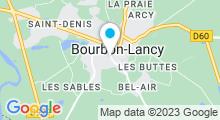 Plan Carte Thermes à Bourbon-Lancy