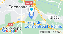 Plan Carte Aqua'Villa à Cormontreuil