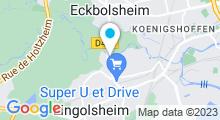Plan Carte Destination bien-être à Lingolsheim