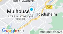 Plan Carte Gymnase Fitness Club de Mulhouse Sud