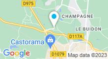Plan Carte SO Club à Bourg en Bresse