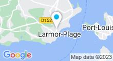 Plan Carte Centre d'aquabiking So-Forme à Larmor Plage