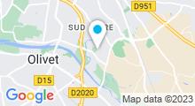 Plan Carte Swimcenter à Orléans