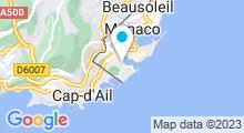 Plan Carte Centre d'amincissement Body Vip à Monaco