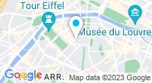 Plan Carte Spa de l'hôtel Le Cinq Codet à Paris